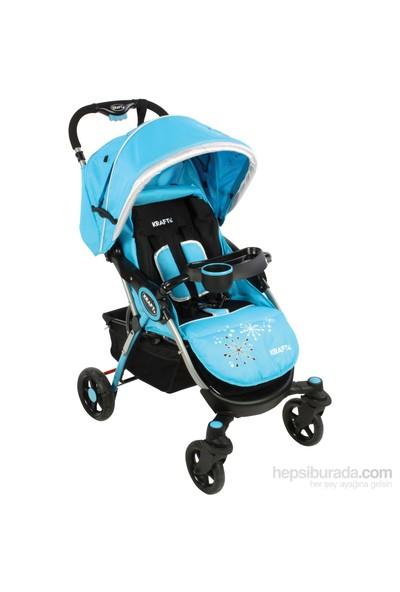 Kraft Pratic Bebek Arabası / Mavi