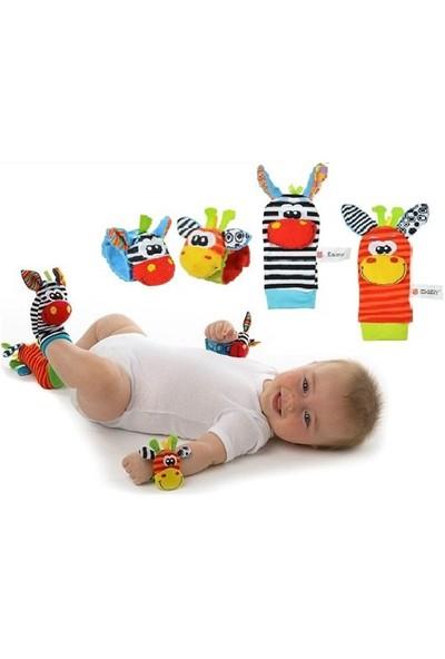Sozzy Oyuncaklı Çıngıraklı Çorap Patik Ve El Bilekliği