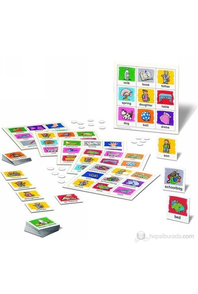 Ravensburger Logo Oyunları İngilizce Öğreniyorum Türkçe, Eğitici Oyun