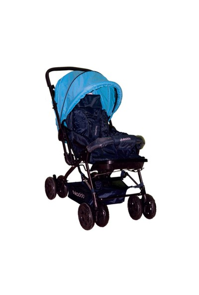 Dukaddo Editta Çift Yönlü Bebek Arabası Lacivert-Mavi