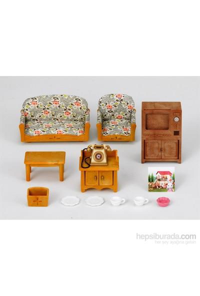 Sylvanian Families C Living Room Set
