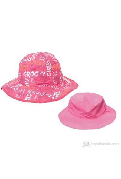Baby Banz Pembe Deniz Kızı Çift Taraflı Şapka Kız