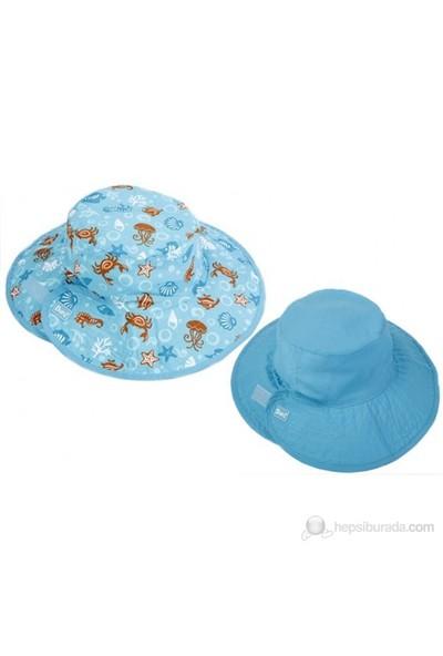 Baby Banz Turkuaz Akvaryum Çift Taraflı Şapka Unisex