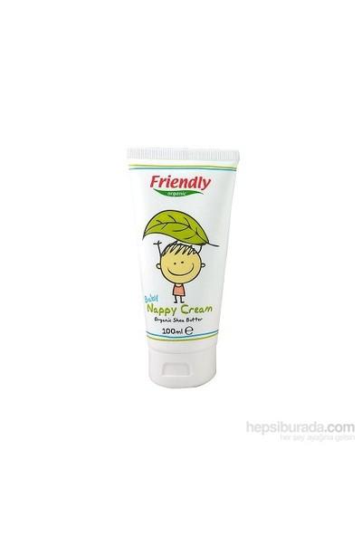 Friendly Organic Bebek Pişik Kremi Organik Shea Yağı / 100 ml