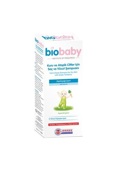 Biobaby Kuru Ve Atopik Ciltler İçin Saç Ve Vücut Şampuanı 300 Ml
