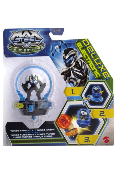 Max Steel Deluks Arena Kahramanlari Max Steel Turbo Güç