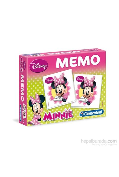 Clementoni Memo Minnie Domino Hafıza Oyunları