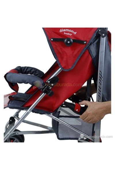 Diamond Baby P102 Tam Yatar Baston Puset - Kırmızı