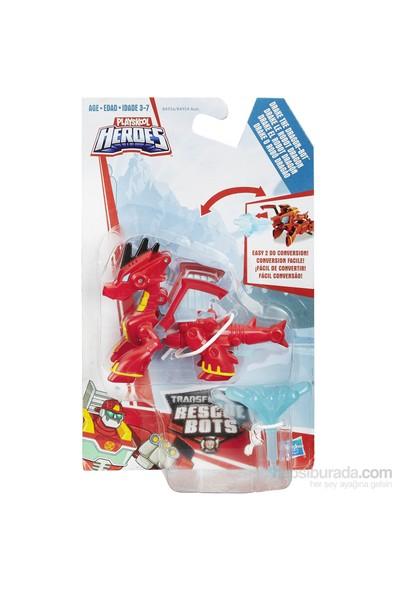 Transformers Rescue Bots Robo Dostlar Ejderha Drake