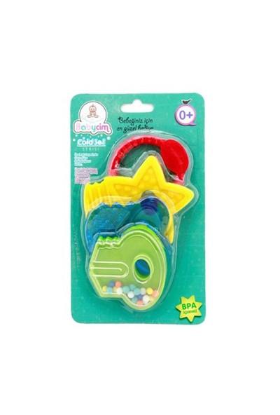 Birlik Oyuncak Çıngırakli Anahtar Jel Dişlik Set