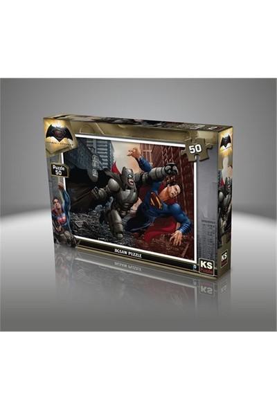 Ks Games Batman V Süperman - 50 Parça Çocuk Puzzle