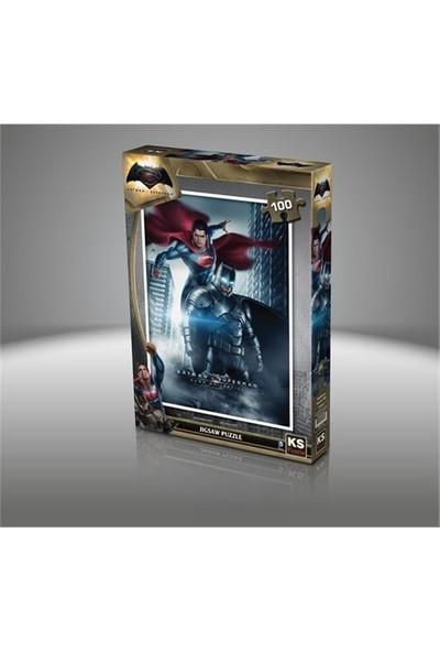 Ks Games Batman V Süperman - 100 Parça Çocuk Puzzle
