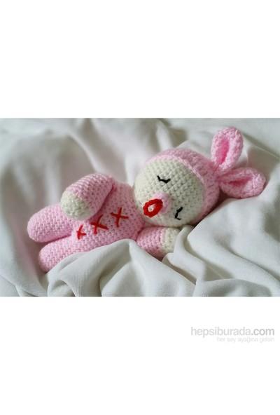 Damla Oyuncak Uykucu Bebiş Amigurumi Örgü Oyuncak