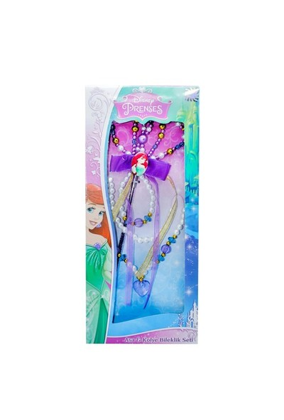 Mega Oyuncak Disney Ariel Asa& Kolye Bileklik Seti
