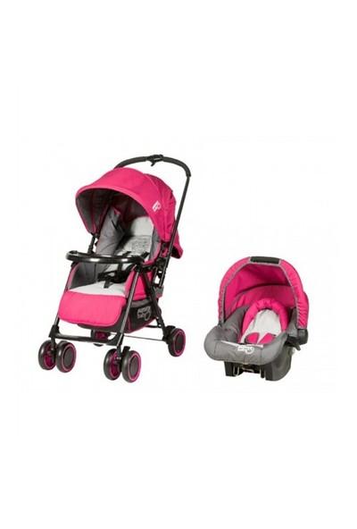 Sunny Baby Majestic Seyahat Sistem Bebek Arabası / Fuşya