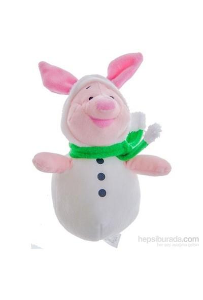 Ottonya Disney Piglet Yilbasi Kiyafetli Peluş Oyuncak