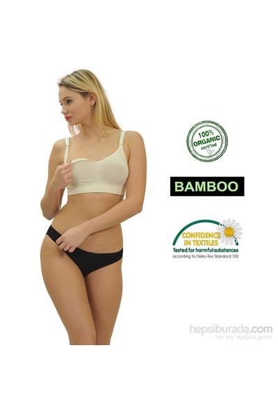 Emzik Form Bambu Emzirme Sütyeni