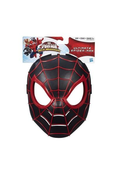 Spıderman Maske Spider Siyah Ultimate