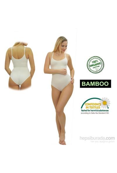 Emzik Form Bambu Çıtçıtlı Body Korse