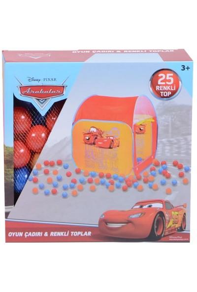 Cars Pop Up Çadır 25 Adet Toplu