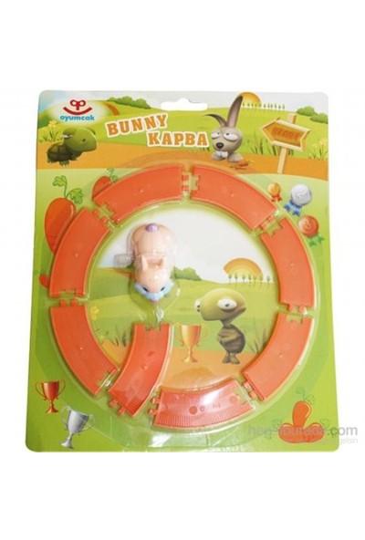 Oyumcak Bunny Kapba Kurmalı Raylı Oyuncak