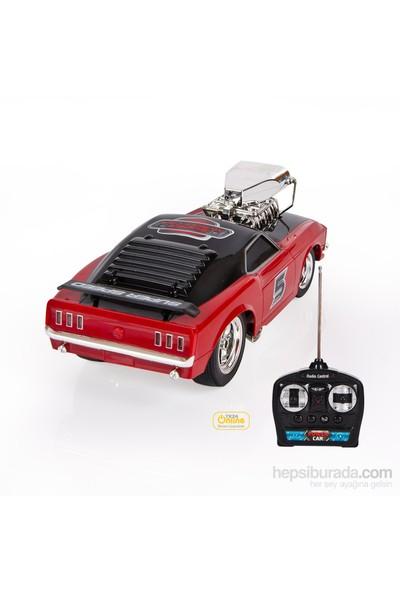 Süper 5 Uzaktan Kumandalı 1:16 Şarjlı Yarış Arabası, Kırmızı