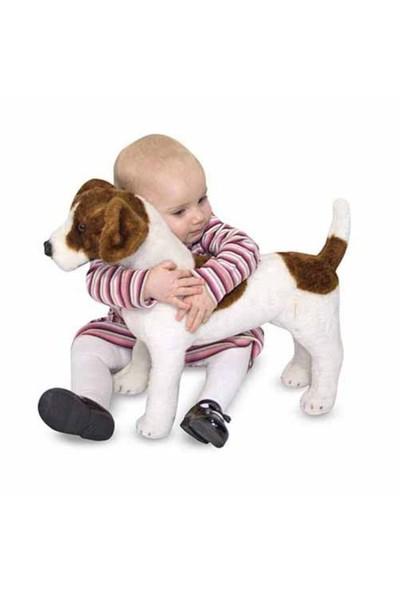 Melissa & Doug Dev Peluş Köpek Jack Russel Terrier