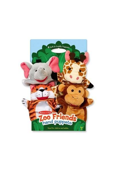 Melissa & Doug El Kukla Seti Hayvanat Bahçesi