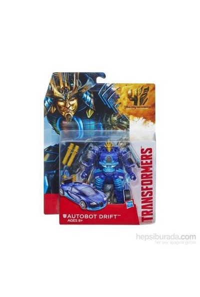 Transformers 4 Hızlı Dönüşen Büyük Figür / Autobot Drift