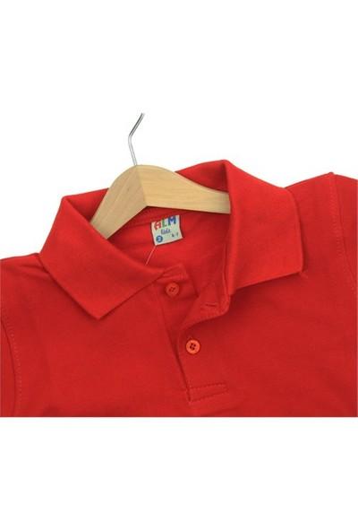 Modakids Kısa Kol Kırmızı Okul Lakos 016 - 3512 - 002