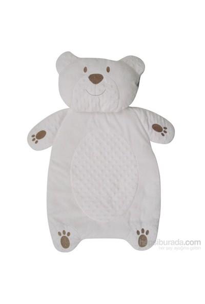 Bebitof 474064 Bebek Alt Açma Peluş Ayılı Beyaz