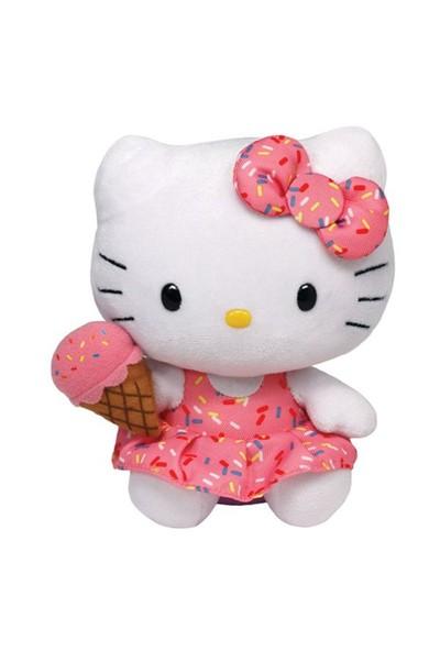 Ty Peluş Oyuncak Hello Kitty - Ice Cream Regular 15 Cm