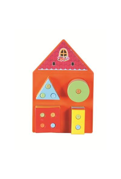 Furkan Kutulu Geometrik Ev (Zeka Bulmacası)