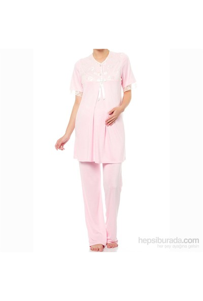 Elija Dantelli Pijama Takımı