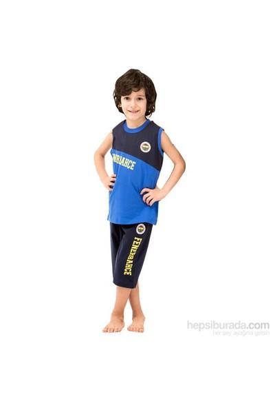 Roly Poly 3038 Fenerbahçe Lisanslı Erkek Çocuk Pijama Takımı Siyah-Lacivert 4 Yaş (104 Cm)