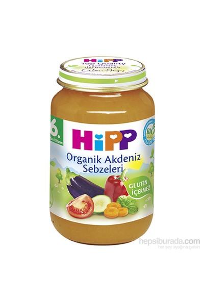 Hipp Organik Akdeniz Sebzeleri Kavanoz Maması 190 gr