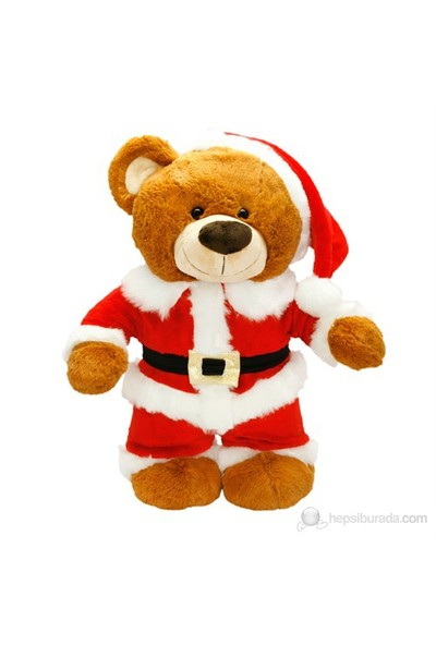 Neco Plush Noel Baba Ayakta Ayı Peluş Oyuncak 55 Cm