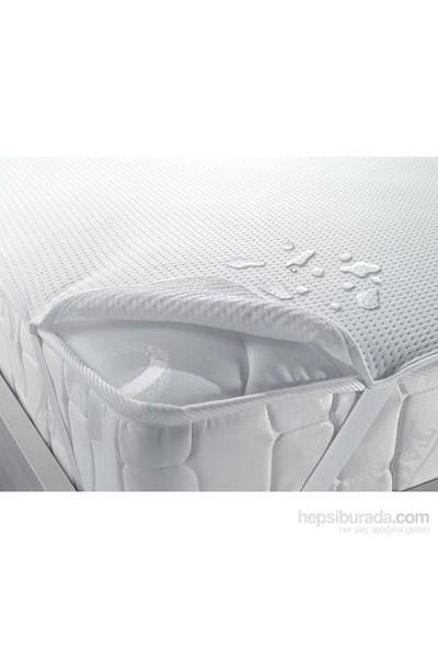 Taç Sıvı Geçirmez Tek Kişilik Polyester Alez