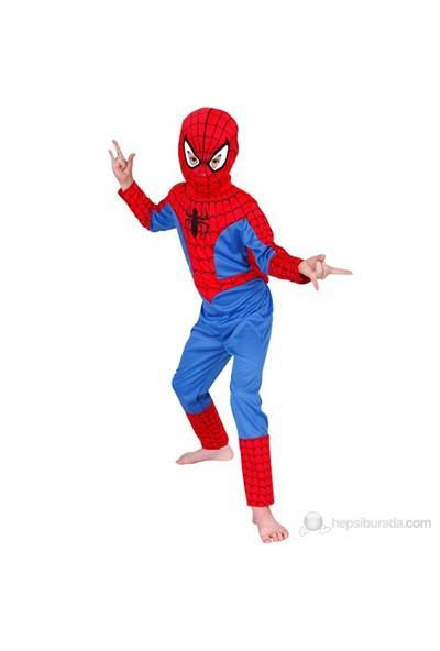 Spiderman Çocuk Kostüm Klasik 3-4 Yaş