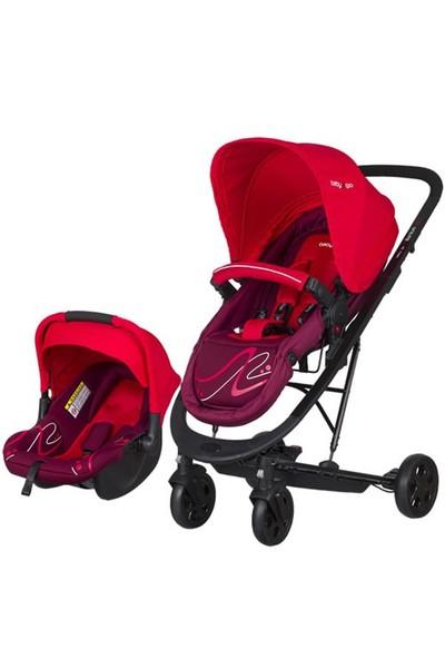 Baby2Go 86050 Millenium T/S Bebek Arabası Kırmızı
