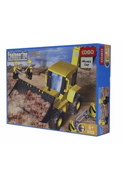 Cogo Mühendis Lego 220 Parça