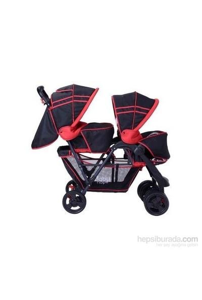 Babyhope İkiz Bebek Arabası (P-738)