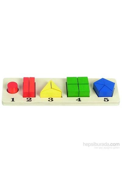 Ekoplay Parça Bütün Geometrik Şekiller