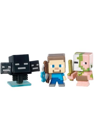 Minecraft 3'Lü Mini Figür Set Model 2