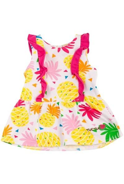 Tuc Tuc Çocuk Elbise Ananas, Coconut