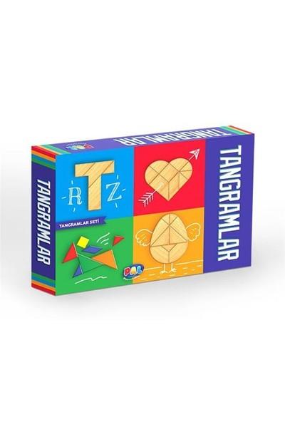 Pal Tangramlar Geometrik Şekiller Seti
