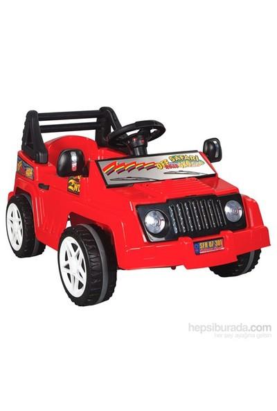 Pilsan New Safari Pedallı Araba - Kırmızı