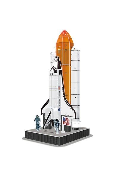 Cubic Fun 3D 87 Parça Puzzle Space Shuttle Discovery