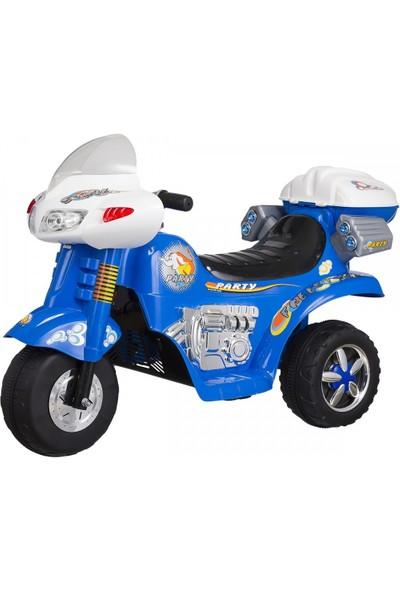 Baby2Go 6503 Akülü Motor - Mavi