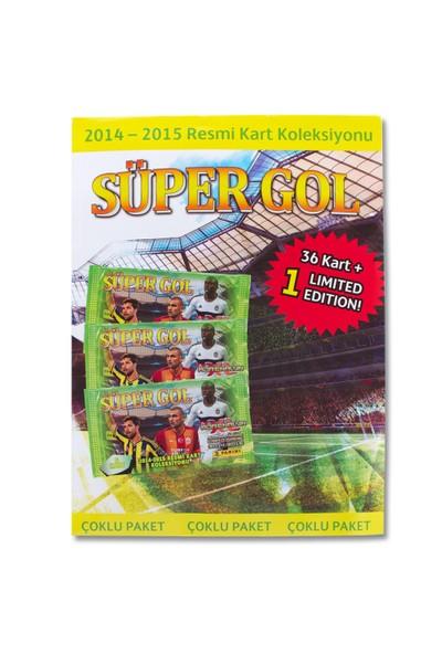 Panini Süper Gol 14/15 Trading Card Çoklu Paket